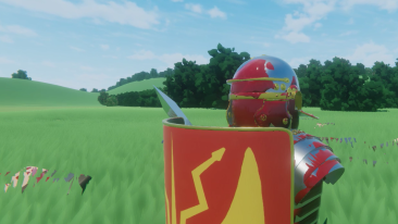 Post-battle legionary